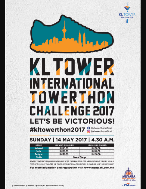 KL Tower International Towerthon Challenge 2017