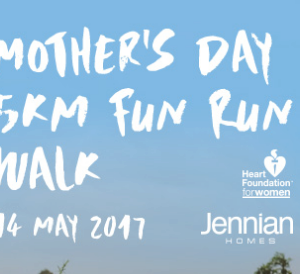 Jennian Homes Mother's Day Fun Run/Walk –  Christchurch 2017