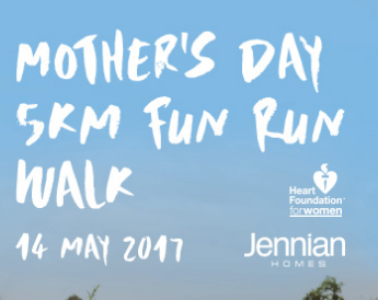 Jennian Homes Mother's Day Fun Run/Walk –   Hamilton 2017
