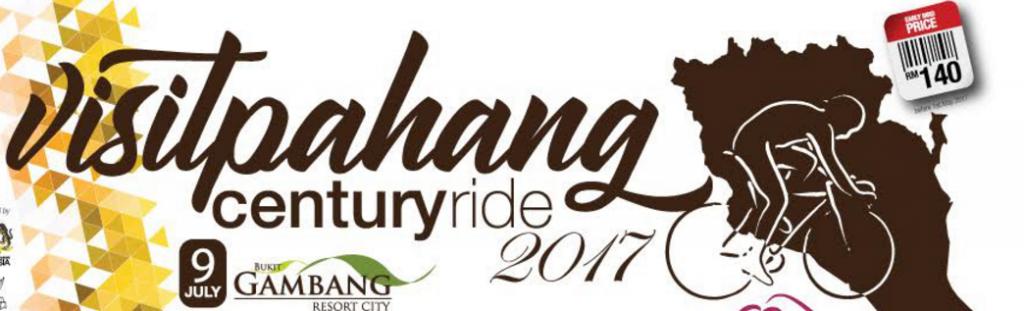 Visit Pahang Century Ride 2017