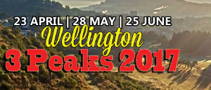 Wellington 3 Peaks 2017 – 23rd April 2017