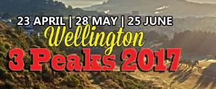 Wellington 3 Peaks 2017 – 23rd April 2017