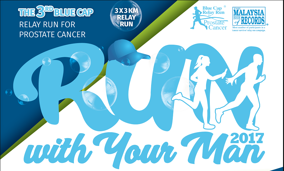 3rd Blue Cap Relay Run for Prostate Cancer