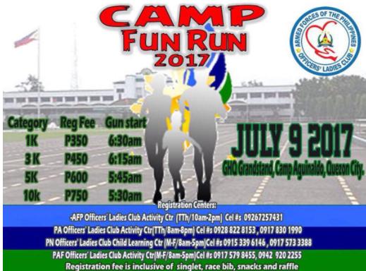 Camp Fun Run 2017