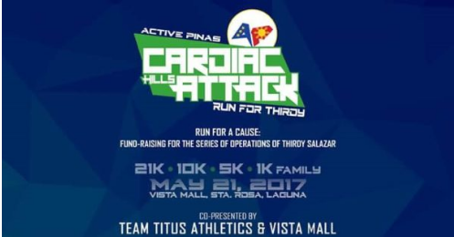 Cardiac Hills Attack Run For Thirdy 2017