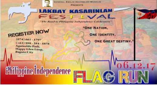 Philippine Independence Flag Run 2017