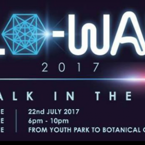 Glo-Walk – A Walk In The Park 2017