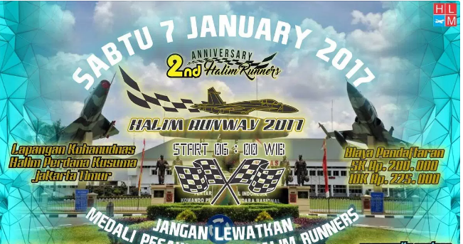 Halim Runway 2017