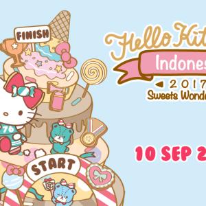 Hello Kitty Run Indonesia 2017: Sweets Wonderland