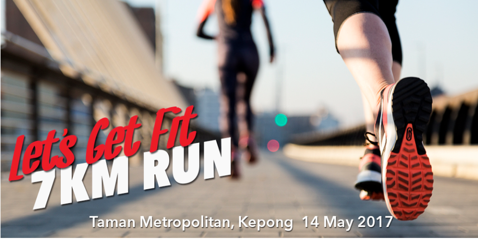 Let's Get Fit- 7km Run 2017