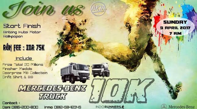 Mercedes Benz Truck 10K 2017