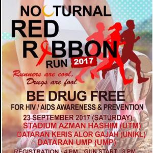 UMP Nocturnal Red Ribbon Run 2017