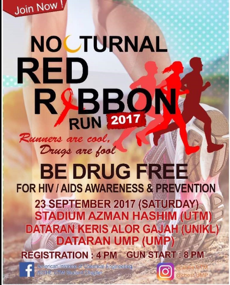 UMP Nocturnal Red Ribbon Run 2017