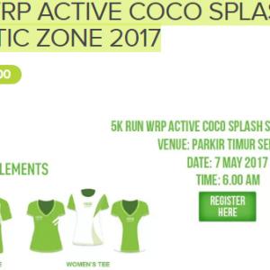 WRP Active Coco Splash Sportastic Zone 2017