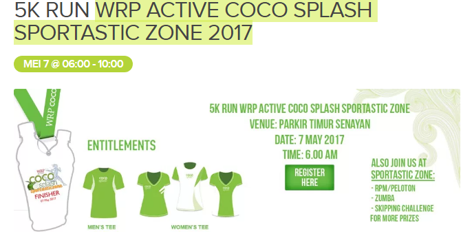 WRP Active Coco Splash Sportastic Zone 2017