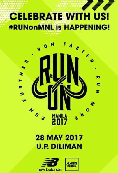 New Balance Run on Manila 2017