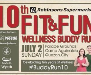 Robinson's Fit & Fun Wellness Buddy Run 2017