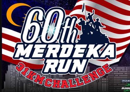 60th Merdeka Run 31KM Challenge 2017