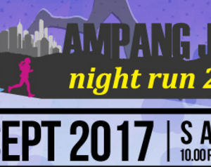 Ampang Jaya Night Run 2017
