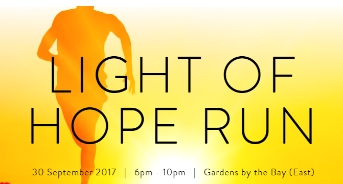 Light of hope 2017 Charity Run 2017