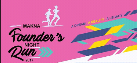 MAKNA Founder's Night Run 2017