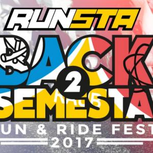 RUNSTA Back2Semesta Run & Ride Fest 2017