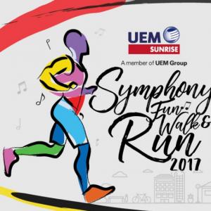 UEM Sunrise Symphony Fun Walk & Run 2017