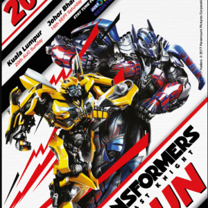 Transformers The Last Knight Run 2017 (Penang)