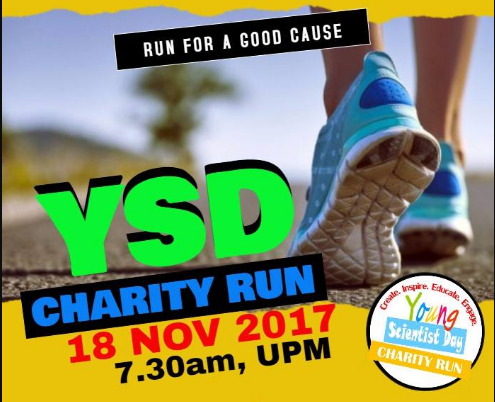 Young Scientist Day Charity Run 2017