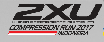 2XU Compression Run Indonesia 2017