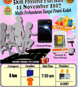 5km Possible Fun Run 2017