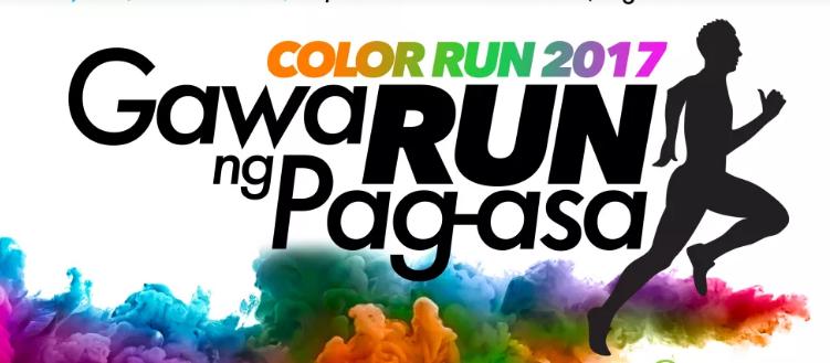GawaRUN ng Pag-asa Color Run 2017