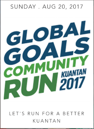 Global Goals Community Run Kuantan 2017