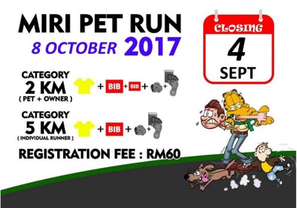 Miri Pet Run 2017