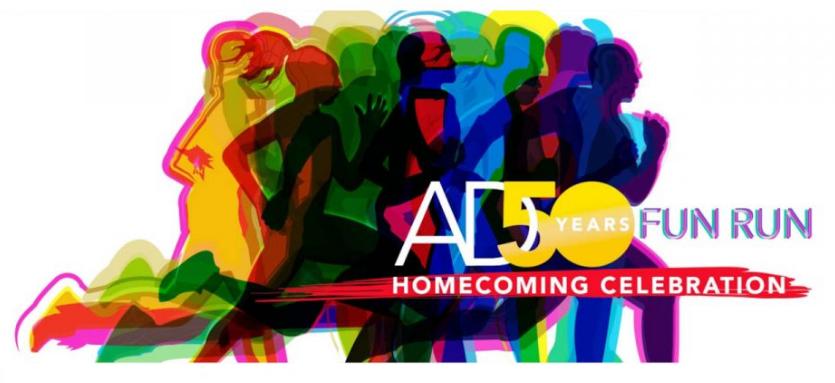 AD 50years Fun Run: Homecoming Celebration 2017