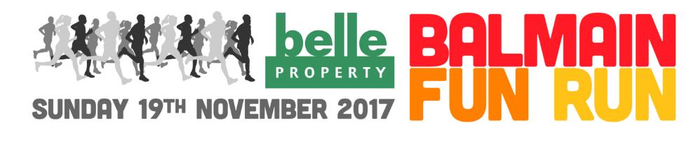Belle Property Balmain Fun Run 2017