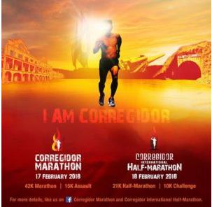 Corregidor International Half Marathon 2018