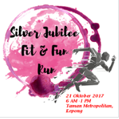 Silver Jubilee Fit & Fun Run 2017