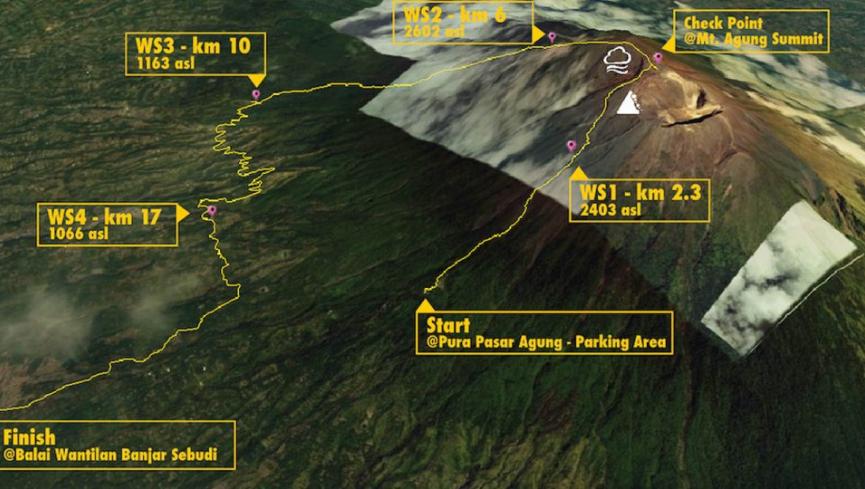 Goat Run Trail Running Series #3 – Gunung Agung 2017