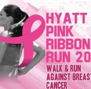 Hyatt Pink Ribbon Run 2017