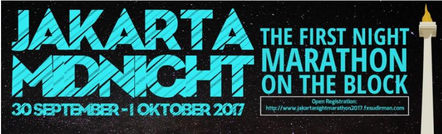Jakarta Night Marathon 2017