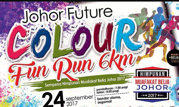 Johor Future Colour Fun Run 2017