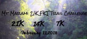 2nd Mt Marami 21K FKT Trail Challenge 2018