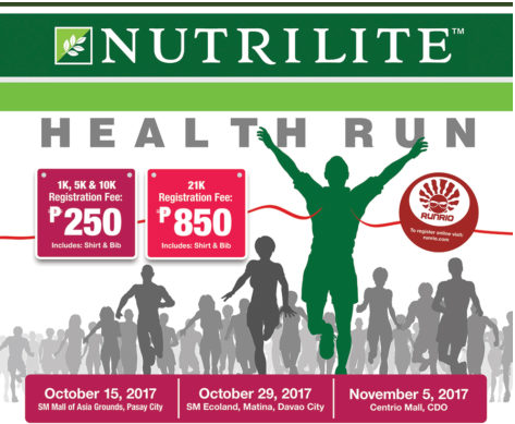 Nutrilite Health Run 2017 – Davao City