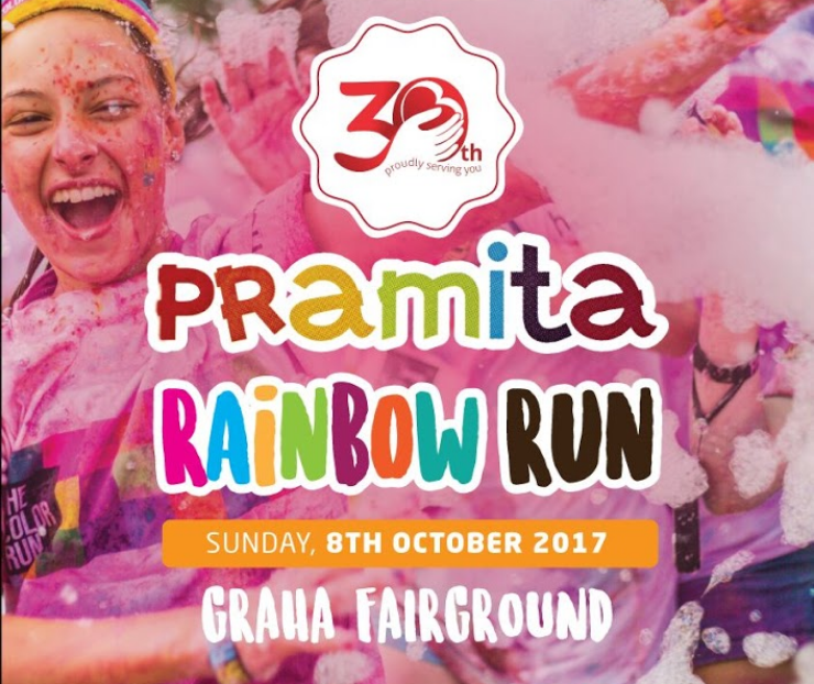Pramita Rainbow Run 2017