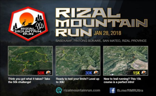 Rizal Mountain Run 2018