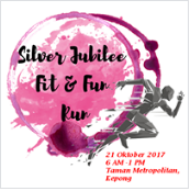 Silver Jubilee FSK Fit and Fun 2017 Charity Run