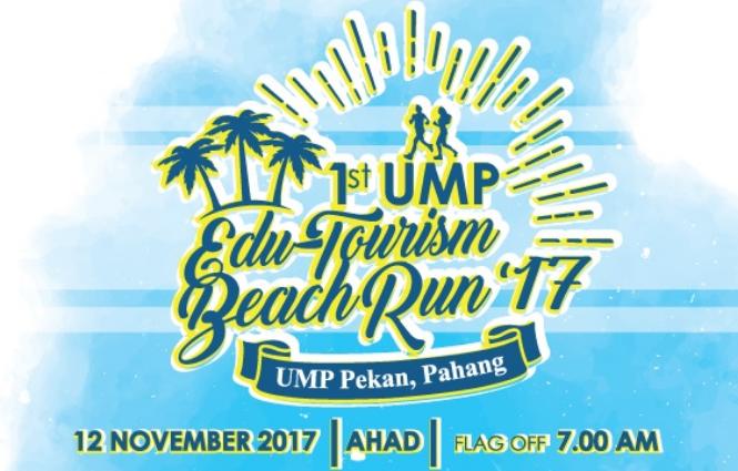 1st UMP Edu-Tourism Beach Run 2017