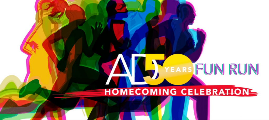 AD 50years Fun Run:Homecoming Celebration 2017