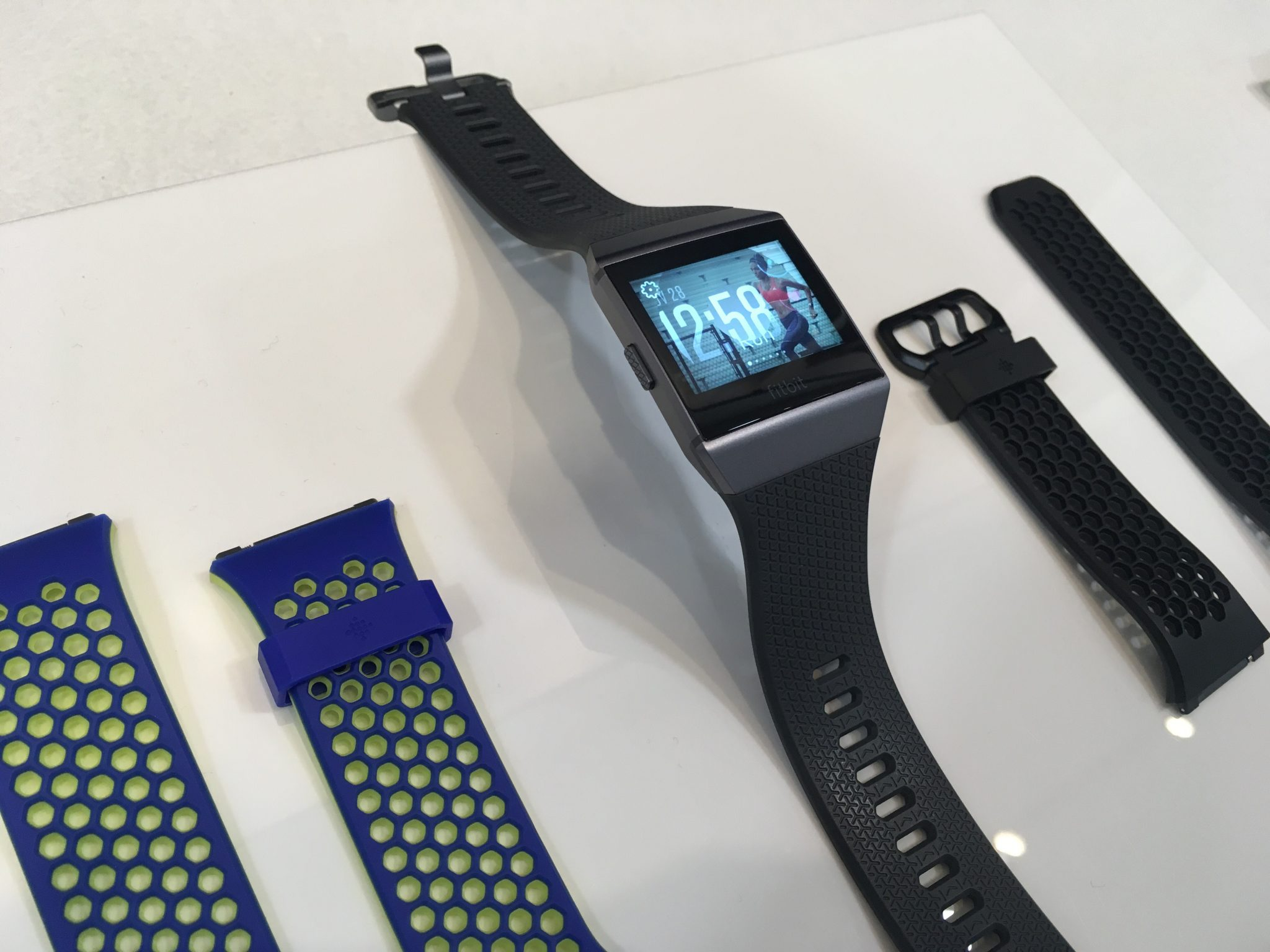 The Fitbit Ionic Is Here And Its Really Smart Just Run Lah Charcoal Smoke Gray In Grey With Additional Strap Choices